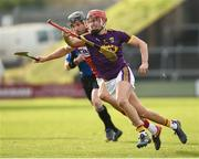 4 February 2018; Paul Morris of Wexford in action against Eoin Cadogan of Cork during the Allianz Hurling League Division 1A Round 2 match between Wexford and Cork at Innovate Wexford Park, in Wexford. Photo by Matt Browne/Sportsfile