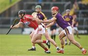 4 February 2018; Christopher Joyce of Cork in action against Lee Chin of Wexford during the Allianz Hurling League Division 1A Round 2 match between Wexford and Cork at Innovate Wexford Park, in Wexford. Photo by Matt Browne/Sportsfile