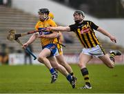 4 February 2018; Tony Kelly of Clare in action against Walter Walsh of Kilkenny during the Allianz Hurling League Division 1A Round 2 match between Kilkenny and Clare at Nowlan Park, in Kilkenny. Photo by Seb Daly/Sportsfile