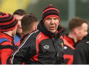 4 February 2018; Down Manager Eamon Burns during the Allianz Football League Division 2 Round 2 match between Down and Cork at Páirc Esler, in Newry, Down. Photo by Philip Fitzpatrick/Sportsfile