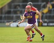 4 February 2018; Lee Chin of Wexford in action against Christopher Joyce of Cork during the Allianz Hurling League Division 1A Round 2 match between Wexford and Cork at Innovate Wexford Park, in Wexford. Photo by Matt Browne/Sportsfile