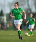 5 February 2018; Roisin McGovern of Republic of Ireland during the Women's Under 17 International Friendly match between Republic of Ireland and Denmark at the FAI National Training Centre in Abbotstown, Dublin. Photo by Eóin Noonan/Sportsfile