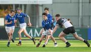 6 February 2018; Barra O'Loughlin of St Mary's College is tackled by Luke Dunleavy of Newbridge College during the Bank of Ireland Leinster Schools Junior Cup Round 1 match between Newbridge College and St Mary's College at Donnybrook Stadium in Dublin. Photo by Daire Brennan/Sportsfile