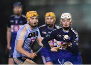 8 February 2018; Warren Kavanagh of Dublin Institute of Technology in action against Seamus Flanagan of University College Dublin during the Electric Ireland HE GAA Fitzgibbon Cup Quarter-Final match between University College Dublin and Dublin Institute of Technology at UCD in Dublin. Photo by Seb Daly/Sportsfile