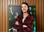 9 February 2018; The definitive GAA sports series returns to TG4 in the spring with a new hour long format. Featuring five GAA personalities whose dramatic, event packed stories demand the longer programme duration to do them justice. These Laochra radiate genuine star quality and are already celebrated as sporting legends. But the series reveals deeper, fresh and sometimes unexpected insights into the lives of these icons, their relationship to their sport and the world around them. While their sporting careers continue to provide the core narratives that have been essential to Laochra Gael's popularity down the years, this new series edges the envelope well beyond the four white lines. It's gripping personal storylines compel its viewers to travel with it towards territory unique to the GAA television landscape. Pictured is current Cork Camogie player Ashling Thompson, at Croke Park in Dublin. Photo by Seb Daly/Sportsfile
