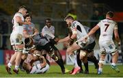 9 February 2018; Andisa Ntsila of Southern Kings is tackled by John Cooney of Ulster during the Guinness PRO14 Round 14 match between Ulster and Southern Kings at Kingspan Stadium in Belfast. Photo by Oliver McVeigh/Sportsfile