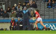 10 February 2018; Dublin manager Mick Bohan during the Lidl Ladies Football National League Division 1 match between Dublin and Cork at Croke Park in Dublin. Photo by Piaras Ó Mídheach/Sportsfile