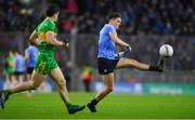 10 February 2018: Eric Lowndes of Dublin in action against Stephen McBrearty of Donegal during the Allianz Football League Division 1 Round 3 match between Dublin and Donegal at Croke Park in Dublin. Photo by Brendan Moran/Sportsfile
