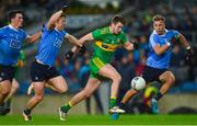 10 February 2018; Eoghan Bán Gallagher of Donegal in action against Dublin's, from left, Colm Basquel, John Small, and Jonny Cooper during the Allianz Football League Division 1 Round 3 match between Dublin and Donegal at Croke Park in Dublin. Photo by Piaras Ó Mídheach/Sportsfile