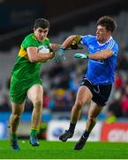 10 February 2018: Stephen McBrearty of Donegal in action against Eric Lowndes of Dublin during the Allianz Football League Division 1 Round 3 match between Dublin and Donegal at Croke Park in Dublin. Photo by Brendan Moran/Sportsfile