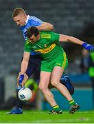 10 February 2018; Eoghan O'Gara of Dublin in action against Leo McLoone of Donegal during the Allianz Football League Division 1 Round 3 match between Dublin and Donegal at Croke Park in Dublin. Photo by Piaras Ó Mídheach/Sportsfile