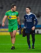 10 February 2018; Michael Murphy of Donegal and Stephen Cluxton of Dublin after the Allianz Football League Division 1 Round 3 match between Dublin and Donegal at Croke Park in Dublin. Photo by Piaras Ó Mídheach/Sportsfile