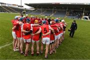 10 February 2018; Cuala players before the AIB GAA Hurling All-Ireland Senior Club Championship Semi-Final match between Liam Mellows and Cuala at Semple Stadium in Thurles, Tipperary. Photo by Matt Browne/Sportsfile