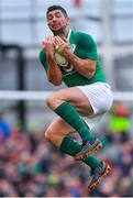 10 February 2018; Rob Kearney of Ireland during the Six Nations Rugby Championship match between Ireland and Italy at the Aviva Stadium in Dublin. Photo by Brendan Moran/Sportsfile