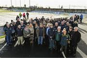 11 February 2018; Kerry supporters after the Allianz Football League Division 1 Round 3 match between Monaghan and Kerry at Páirc Grattan in Inniskeen, Monaghan, was called off. Photo by Brendan Moran/Sportsfile