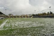 11 February 2018; A general view of Kingspan Breffni as the Allianz Football League Division 2 Round 3 match between Cavan and Meath was postponed due to recent snowfall and rain at Kingspan Breffni in Cavan. Photo by Philip Fitzpatrick/Sportsfile