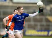 11 February 2018; Dessie Reynolds of Longford in action against Brendan Donaghy of Armagh during the Allianz Football League Division 3 Round 3 match between Armagh and Longford at the Athletic Grounds in Armagh Photo by Oliver McVeigh/Sportsfile