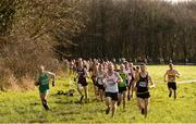 10 February 2018; A general view of the field from the Master Men O35-64 Event during the Irish Life Health Intermediates, Masters, Juvenile B & Juvenile XC Relays at Kilcoran Estate in Clainbridge, County Galway. Photo by Sam Barnes/Sportsfile