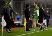 10 February 2018: Nathan Mullins of Donegal leaves the pitch upon being substituted during the Allianz Football League Division 1 Round 3 match between Dublin and Donegal at Croke Park in Dublin. Photo by Brendan Moran/Sportsfile