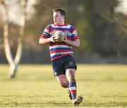 11 February 2018; Dermot Preston of North Kildare during the Bank of Ireland Provincial Towns Cup Round 2 match between North Kildare and Wicklow at North Kildare RFC in Kilcock, Co Kildare. Photo by Matt Browne/Sportsfile