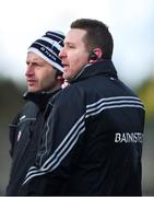 11 February 2018; Kildare selector Enda Murphy, left, and manager Cian O'Neill during the Allianz Football League Division 1 Round 3 match between Kildare and Tyrone at St Conleth's Park in Newbridge, Kildare. Photo by Piaras Ó Mídheach/Sportsfile