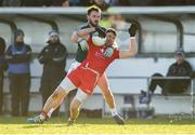 11 February 2018; Mattie Donnelly of Tyrone in action against Fergal Conway of Kildare during the Allianz Football League Division 1 Round 3 match between Kildare and Tyrone at St Conleth's Park in Newbridge, Kildare. Photo by Piaras Ó Mídheach/Sportsfile