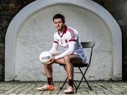 12 February 2018; Slaughtneil's Karl McKaigue is pictured ahead of the AIB GAA All-Ireland Senior Football Club Championships Semi-Final taking place at O'Connor Park on Saturday, 17th of February where the Derry Club will face Cork's Nemo Rangers. For exclusive content and behind the scenes action throughout the AIB GAA and Camogie Club Championships follow AIB GAA on Facebook, Twitter, Instagram and Snapchat and www.aib.ie/GAA.  Photo by Sam Barnes/Sportsfile