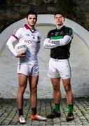 12 February 2018; Slaughtneil's Karl McKaigue and Nemo Rangers' Barry O'Driscoll are pictured ahead of the AIB GAA All-Ireland Senior Football Club Championships Semi-Final taking place at O'Connor Park on Saturday, 17th of February. For exclusive content and behind the scenes action throughout the AIB GAA and Camogie Club Championships follow AIB GAA on Facebook, Twitter, Instagram and Snapchat and www.aib.ie/GAA.  Photo by Sam Barnes/Sportsfile