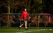 12 February 2018; Andrew Conway trains separate from team-mates during Munster Rugby squad training at the University of Limerick in Limerick. Photo by Diarmuid Greene/Sportsfile
