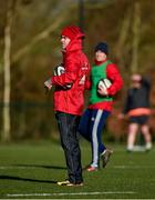 12 February 2018; Head coach Johann van Graan during Munster Rugby squad training at the University of Limerick in Limerick. Photo by Diarmuid Greene/Sportsfile