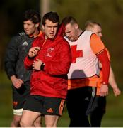 12 February 2018; Mike Sherry during Munster Rugby squad training at the University of Limerick in Limerick. Photo by Diarmuid Greene/Sportsfile