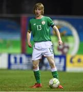 13 February 2018; Luca Connell of Republic of Ireland during the Under 17 International Friendly match between the Republic of Ireland and Turkey at Eamonn Deacy Park in Galway. Photo by Diarmuid Greene/Sportsfile