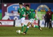 13 February 2018; Tyriek Wright of Republic of Ireland during the Under 17 International Friendly match between the Republic of Ireland and Turkey at Eamonn Deacy Park in Galway. Photo by Diarmuid Greene/Sportsfile