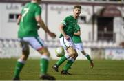 13 February 2018; Nathan Collins of Republic of Ireland during the Under 17 International Friendly match between the Republic of Ireland and Turkey at Eamonn Deacy Park in Galway. Photo by Diarmuid Greene/Sportsfile
