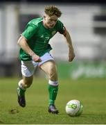 13 February 2018; Callum Thompson of Republic of Ireland during the Under 17 International Friendly match between the Republic of Ireland and Turkey at Eamonn Deacy Park in Galway. Photo by Diarmuid Greene/Sportsfile