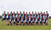 14 February 2018; The Midlands squad prior to the Shane Horgan Cup 4th Round match between North Midlands and Midlands at Ashbourne RFC in Ashbourne, Co Meath. Photo by David Fitzgerald/Sportsfile