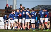 14 February 2018; Midlands players celebrate at the final whistle following their side's victory in the Shane Horgan Cup 4th Round match between North Midlands and Midlands at Ashbourne RFC in Ashbourne, Co Meath. Photo by David Fitzgerald/Sportsfile