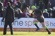 15 February 2018; Tadhg Furlong during Ireland Rugby squad training at Buccaneers RFC, Dubarry Park, Athlone, Westmeath. Photo by Brendan Moran/Sportsfile