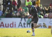15 February 2018; Fergus McFadden during Ireland Rugby squad training at Buccaneers RFC, Dubarry Park, Athlone, Westmeath. Photo by Brendan Moran/Sportsfile