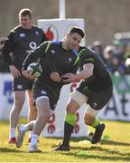 15 February 2018; Conor Murray during Ireland Rugby squad training at Buccaneers RFC, Dubarry Park, Athlone, Westmeath. Photo by Harry Murphy/Sportsfile