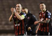 16 February 2018; Derek Pender of Bohemians after the SSE Airtricity League Premier Division match between Bohemians and Shamrock Rovers at Dalymount Park in Dublin. Photo by Matt Browne/Sportsfile