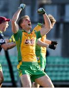 17 February 2018; Kieran Fitzgerald of Corofin celebrates after the AIB GAA Football All-Ireland Senior Club Championship Semi-Final match between Corofin and Moorefield at O'Connor Park in Tullamore, Offaly. Photo by Matt Browne/Sportsfile