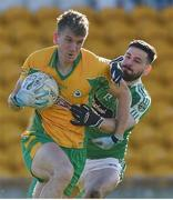 17 February 2018; Kieran Fitzgerald of Corofin in action against Niall Hurley Lynch of Moorefield during the AIB GAA Football All-Ireland Senior Club Championship Semi-Final match between Corofin and Moorefield at O'Connor Park in Tullamore, Offaly. Photo by Matt Browne/Sportsfile