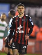 16 February 2018; Eoghan Stokes of Bohemians during the SSE Airtricity League Premier Division match between Bohemians and Shamrock Rovers at Dalymount Park in Dublin. Photo by Matt Browne/Sportsfile