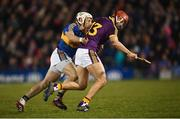17 February 2018; Paul Morris of Wexford in action against Sean O'Brien of Tipperary during the Allianz Hurling League Division 1A Round 3 match between Tipperary and Wexford at Semple Stadium in Thurles, Tipperary. Photo by Stephen McCarthy/Sportsfile