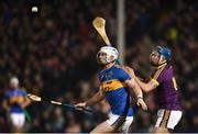 17 February 2018; John McGrath of Tipperary and Conor Firman of Wexford during the Allianz Hurling League Division 1A Round 3 match between Tipperary and Wexford at Semple Stadium in Thurles, Tipperary. Photo by Stephen McCarthy/Sportsfile