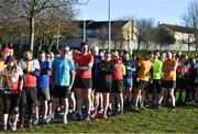 17 February 2018; Participants taking part in the Tolka Valley parkrun in Finglas, Dublin. parkrun Ireland in partnership with Vhi, added their 87th event on Saturday, February 17th, with the introduction of the Tolka Valley parkrun in Finglas, Dublin 11. parkruns take place over a 5km course weekly, are free to enter and are open to all ages and abilities, providing a fun and safe environment to enjoy exercise. To register for a parkrun near you visit www.parkrun.ie. Photo by Brendan Moran/Sportsfile