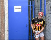 18 February 2018; Cillian Buckley of Kilkenny leads his side out prior to the Allianz Hurling League Division 1A Round 3 match between Waterford and Kilkenny at Walsh Park in Waterford. Photo by Stephen McCarthy/Sportsfile