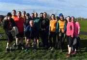 17 February 2018; The 'Tourists' after taking part in the Tolka Valley parkrun in Finglas, Dublin. parkrun Ireland in partnership with Vhi, added their 87th event on Saturday, February 17th, with the introduction of the Tolka Valley parkrun in Finglas, Dublin 11. parkruns take place over a 5km course weekly, are free to enter and are open to all ages and abilities, providing a fun and safe environment to enjoy exercise. To register for a parkrun near you visit www.parkrun.ie. Photo by Brendan Moran/Sportsfile