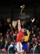 18 February 2018; Colm Spillane of Cork in action against Shane O'Donnell of Clare during the Allianz Hurling League Division 1A Round 3 match between Clare and Cork at Cusack Park in Ennis, Clare. Photo by Seb Daly/Sportsfile